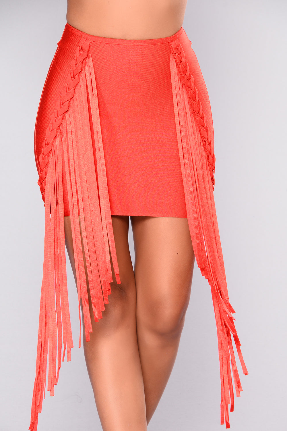 Private Parties Bandage Skirt - Red