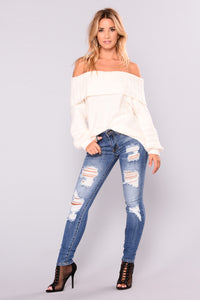 Lei Ann Skinny Jeans - Medium Blue Wash