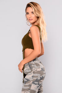 Knox Harness Top - Olive