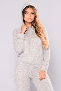 Modern Culture Active Hoodie - Heather Grey