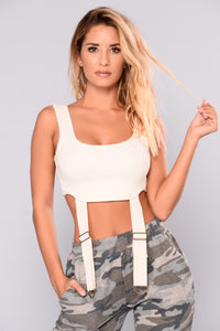 Knox Harness Top - Ivory