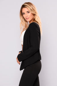 Good To Know Blazer - Black