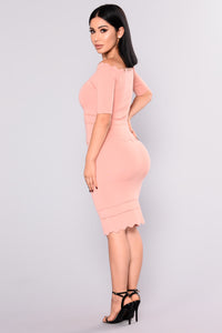 Miss Behave Skirt - Pink