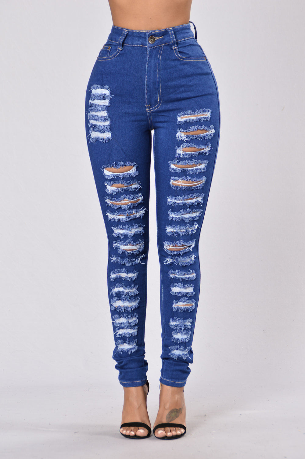 Stand Out In The Crowd Jeans - Royal Blue