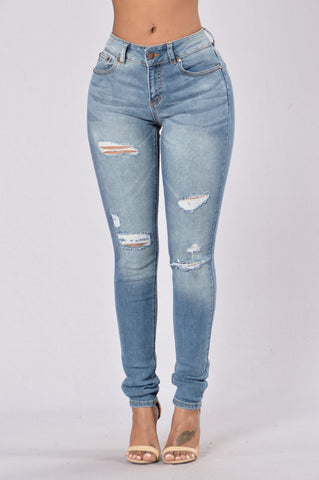 Make You Stay Jeans - Medium Wash