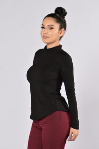 Pull Apart Top - Black Angle 3
