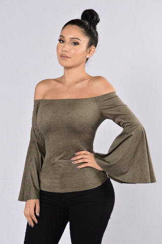 Treat Yourself Top - Olive