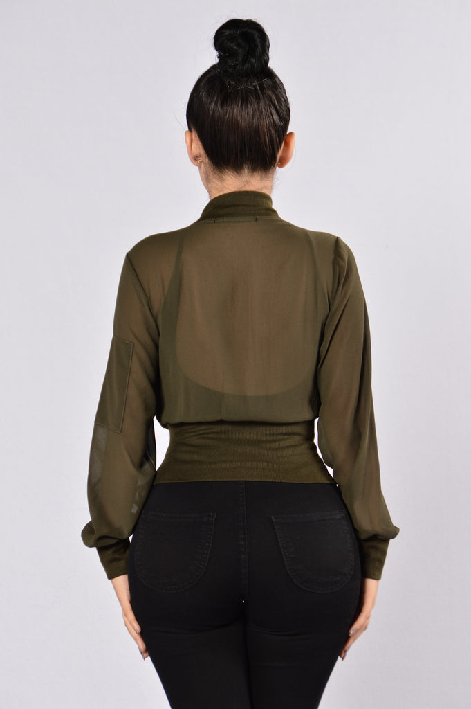 Meltdown Jacket - Olive