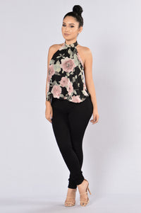 One Sweet Day Top - Black