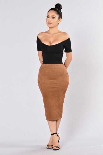 Of My Dreams Skirt - Camel