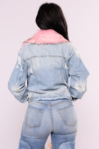 Bourbon Denim Jacket - Medium Wash