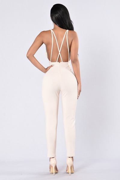 First Take Jumpsuit - Cream