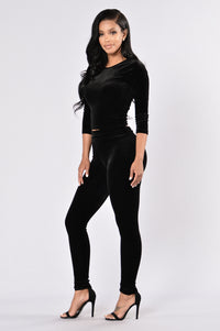Nights Like This Leggings - Black Angle 6