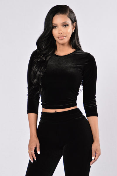 Nights Like This Top - Black