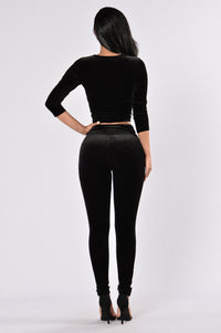 Nights Like This Leggings - Black Angle 5