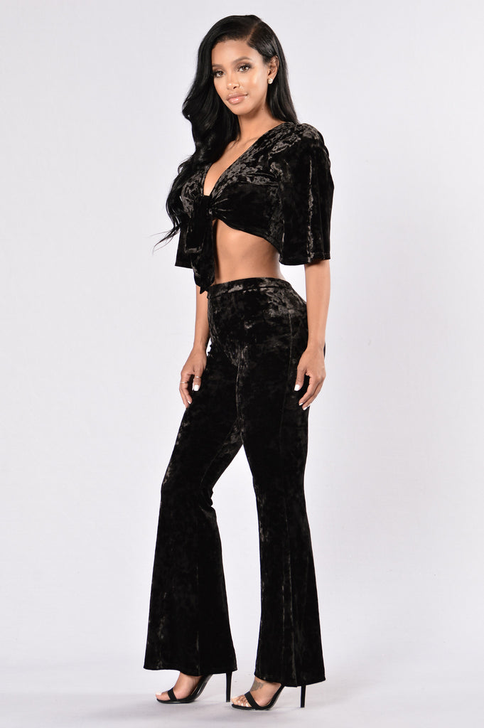 Meet Me On The Dance Floor Pants - Black