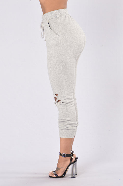 Savage Mode Pants - Heather Grey