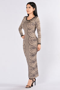 Hallucination Dress - Taupe