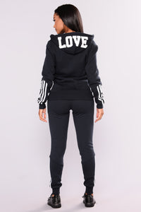 Lover Lounge Jogger - Navy