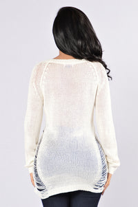 She Will Be Loved Sweater - Ivory