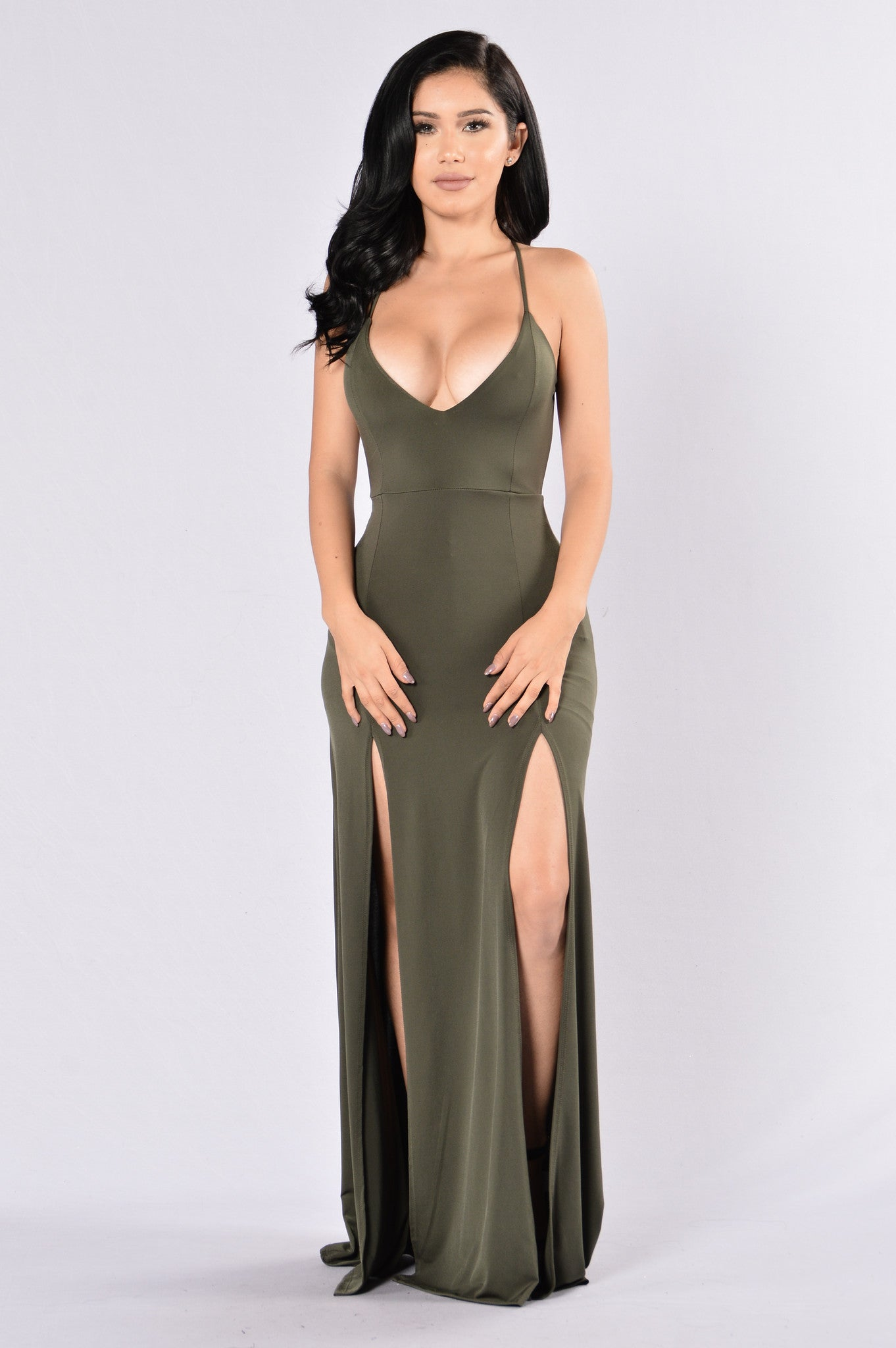 Dream Of Me Dress Olive