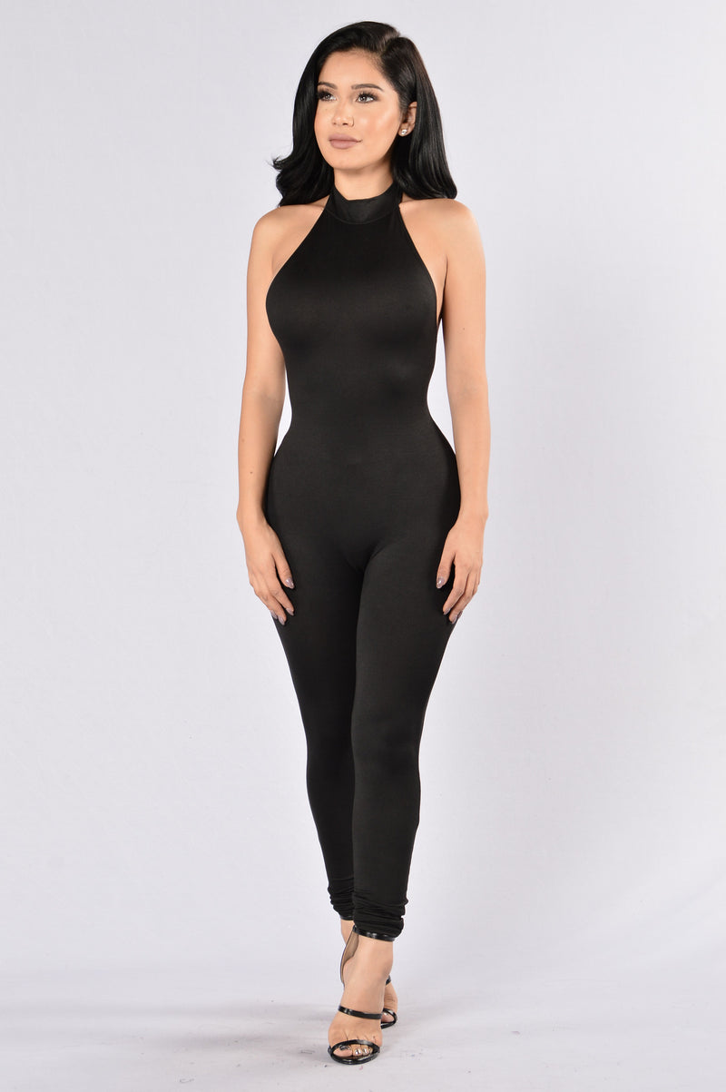 Rush Jumpsuit - Black