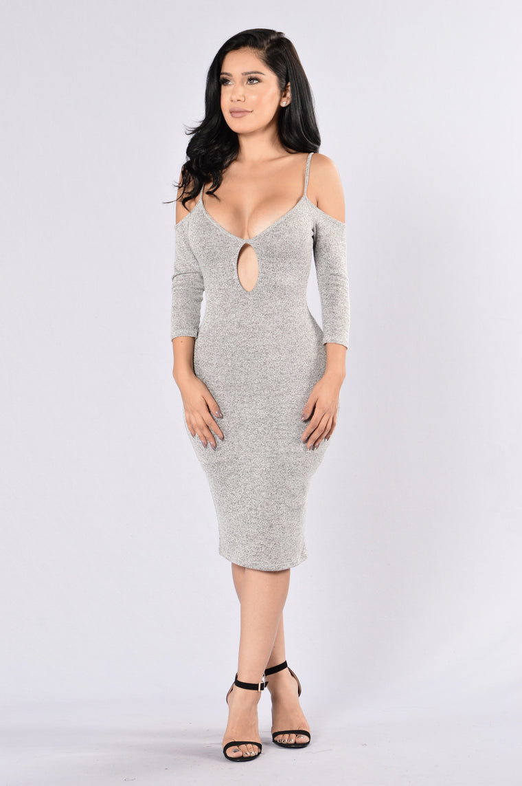 Stone Cold Dress - Grey