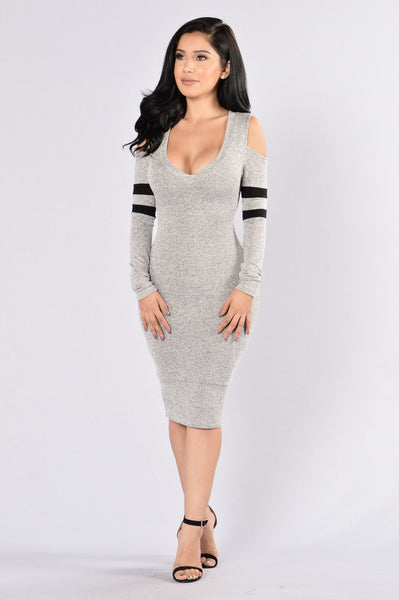 Cheer Night Dress - Grey