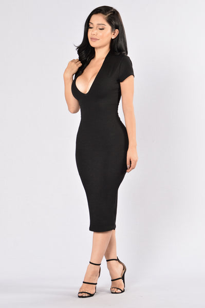 Friendly Fire Dress - Black