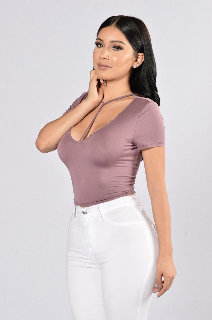 Harness My Heart Tee - Lavender
