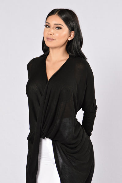 Girl Like You Sweater - Black