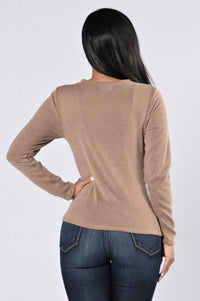 Highest Heaven Sweater - Mocha