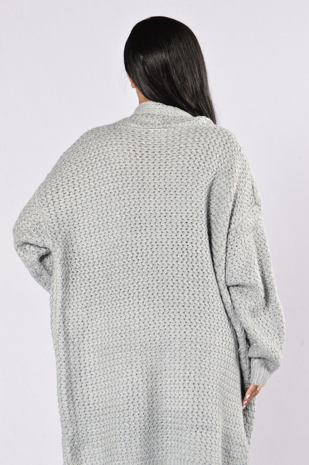 Get Over It Sweater - Grey