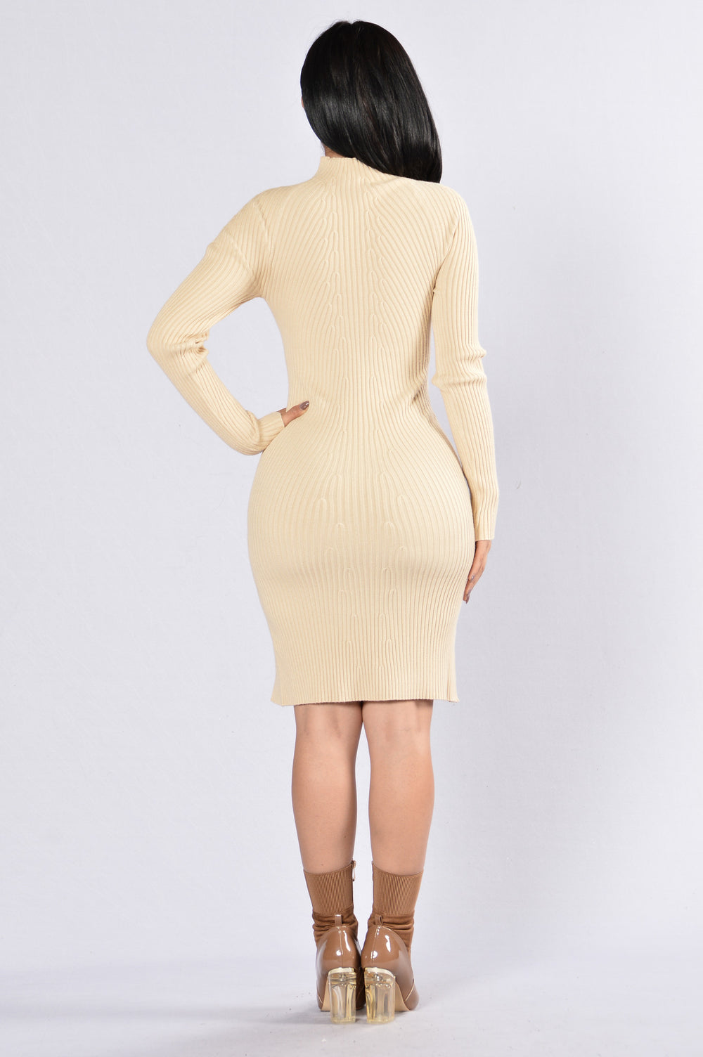 All That Spice Dress - Cream