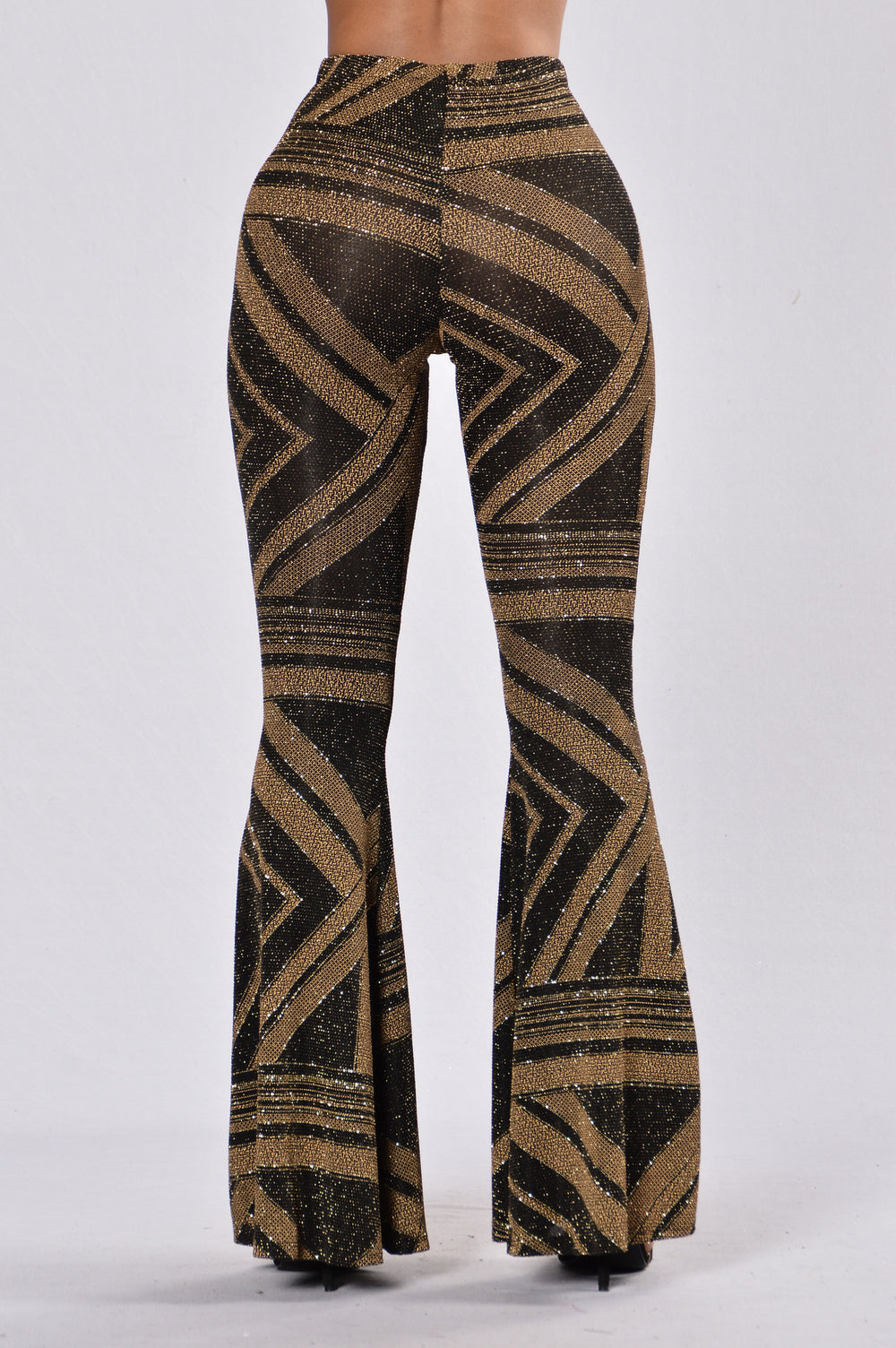 Party Bus Pants - Black/Gold