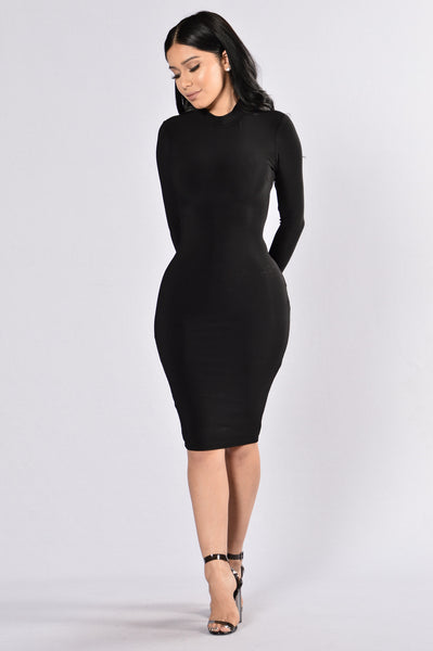 High On Life Dress - Black