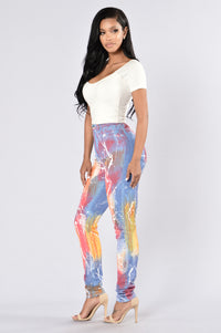 Somewhere Over The Rainbow Jeans - Multi Angle 6