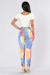 Somewhere Over The Rainbow Jeans - Multi Angle 5