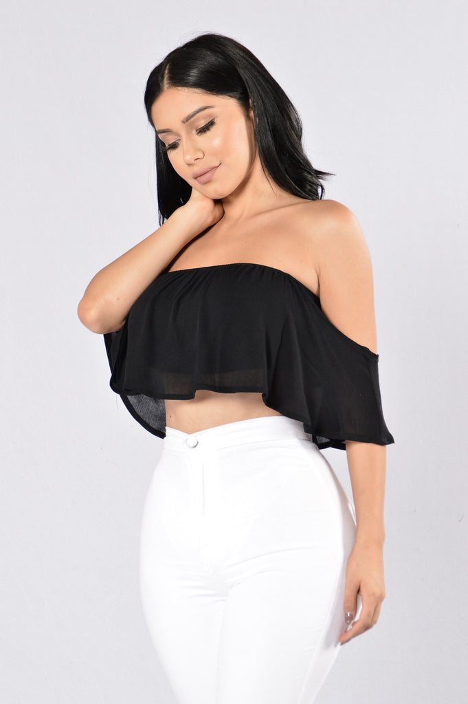 Love Is Alive Top - Black