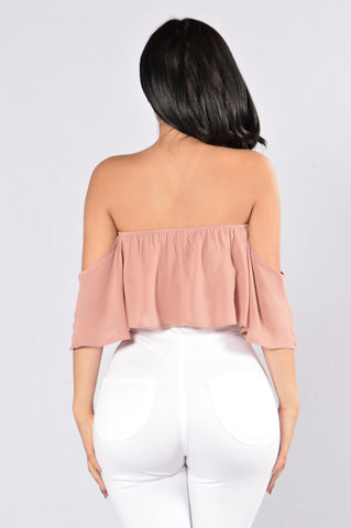 Love Is Alive Top - Mauve
