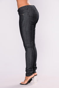 Ex Factor Skinny Jeans - Dark Denim