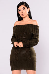 Jezebel Sweater - Olive