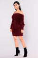 Jezebel Sweater - Burgundy