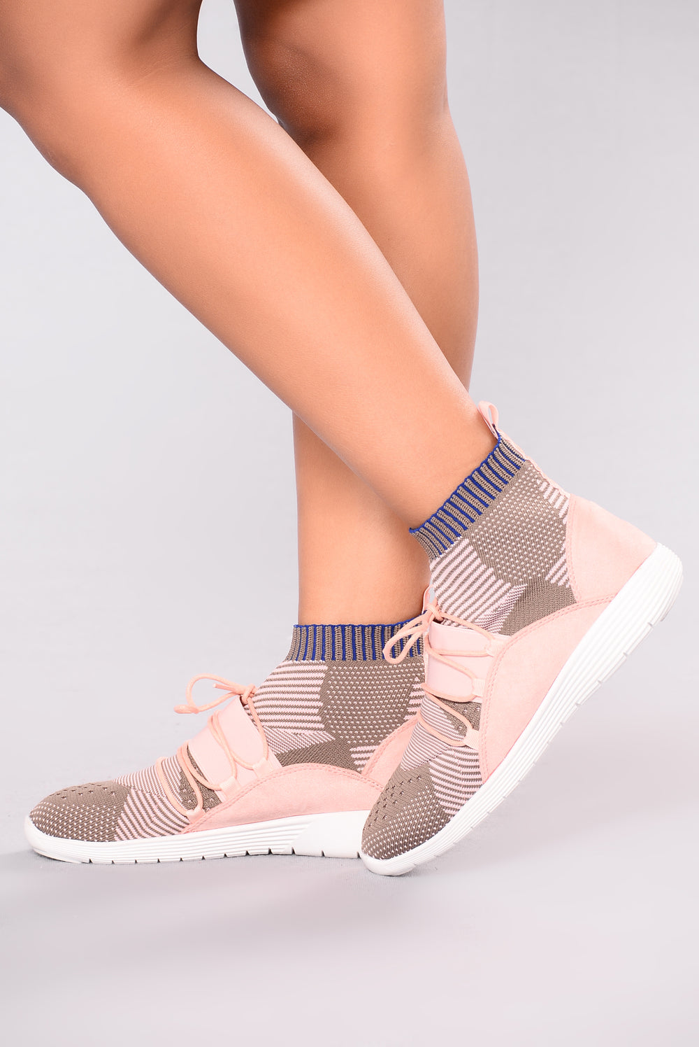 Flex And Go Sneaker - Blush