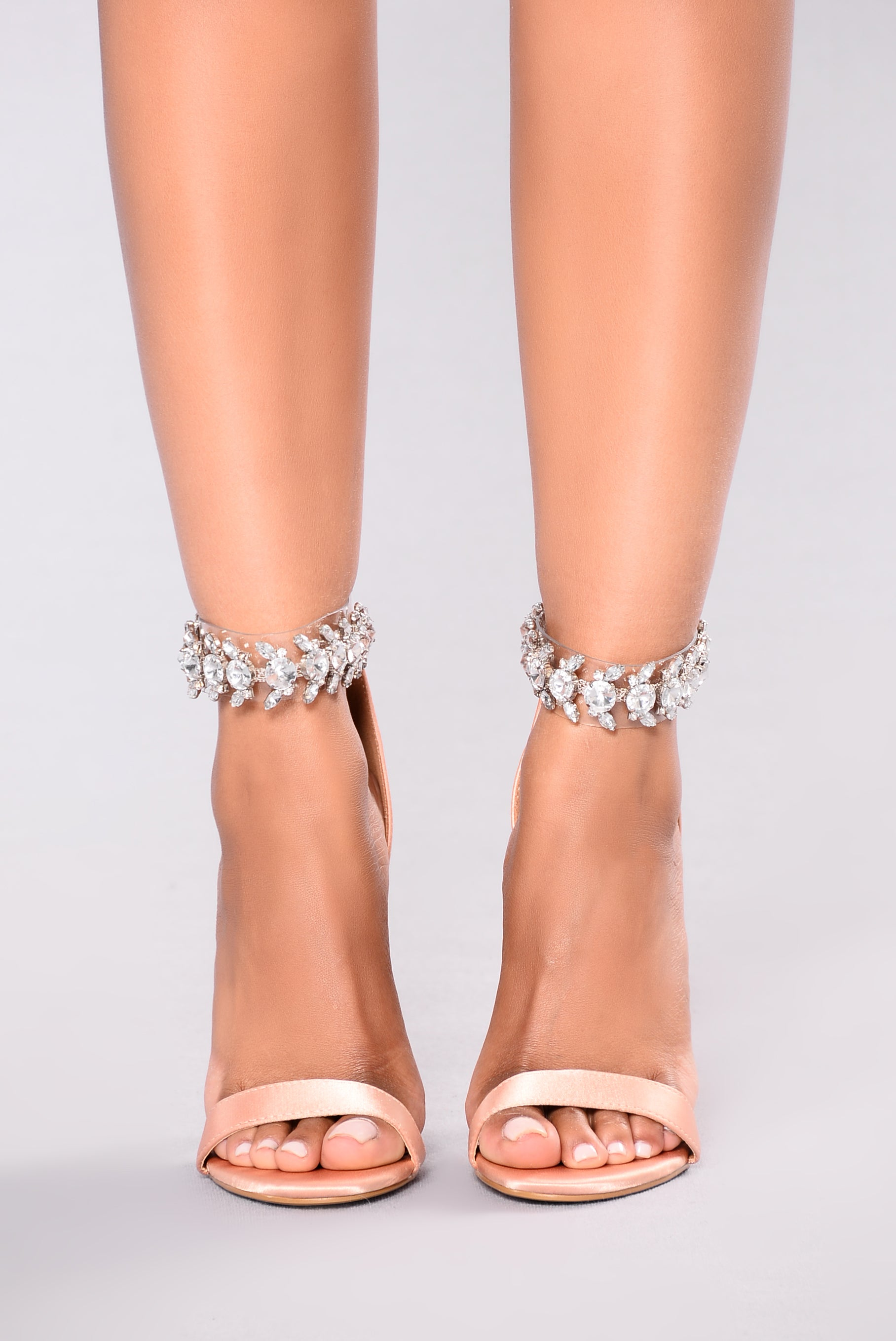 fa803119e1a Lucy Jeweled Heel - Blush