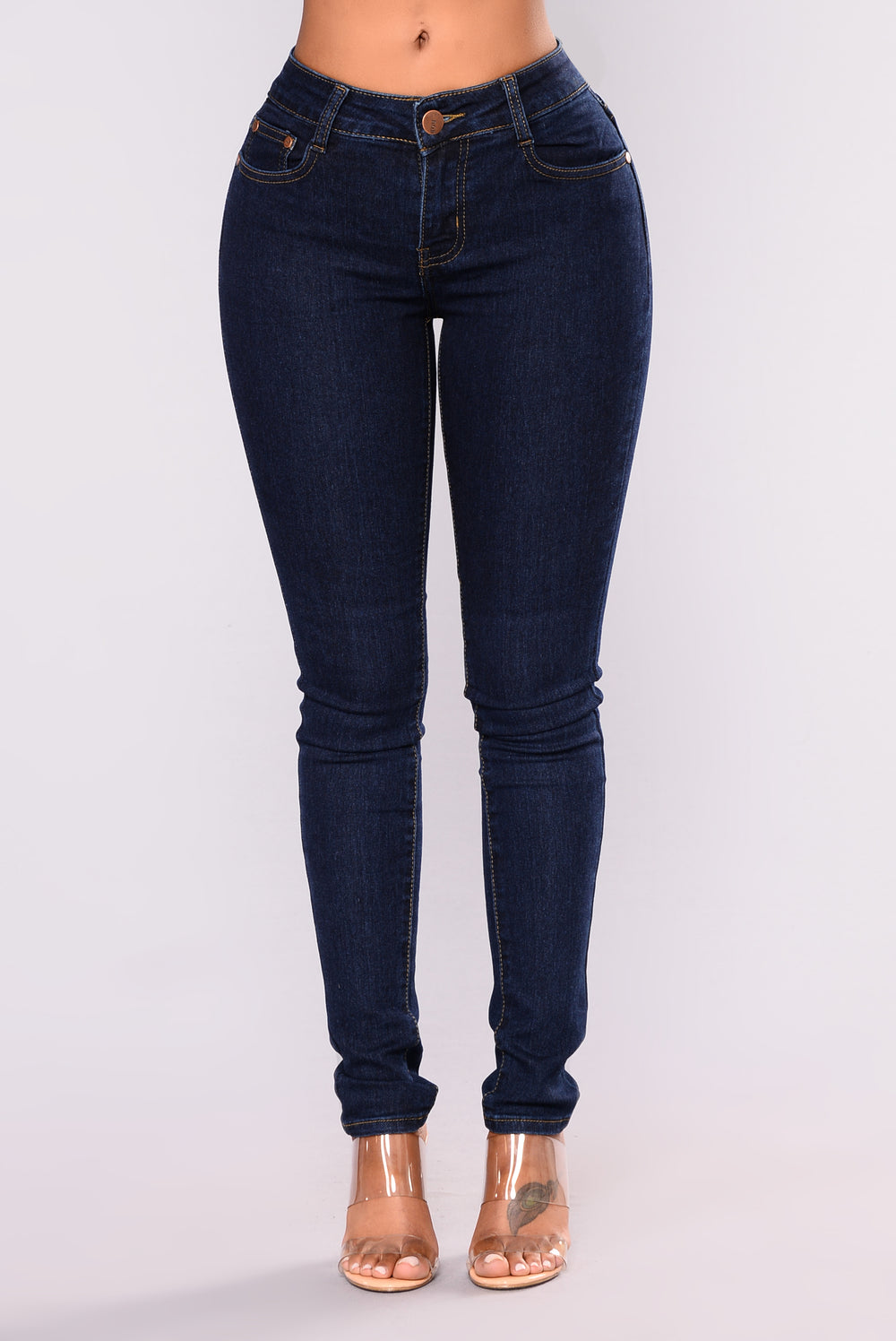 Brunch Aficionado Skinny Jeans - Dark Denim
