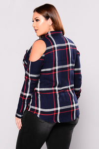 Cool To The Bone Top - Navy