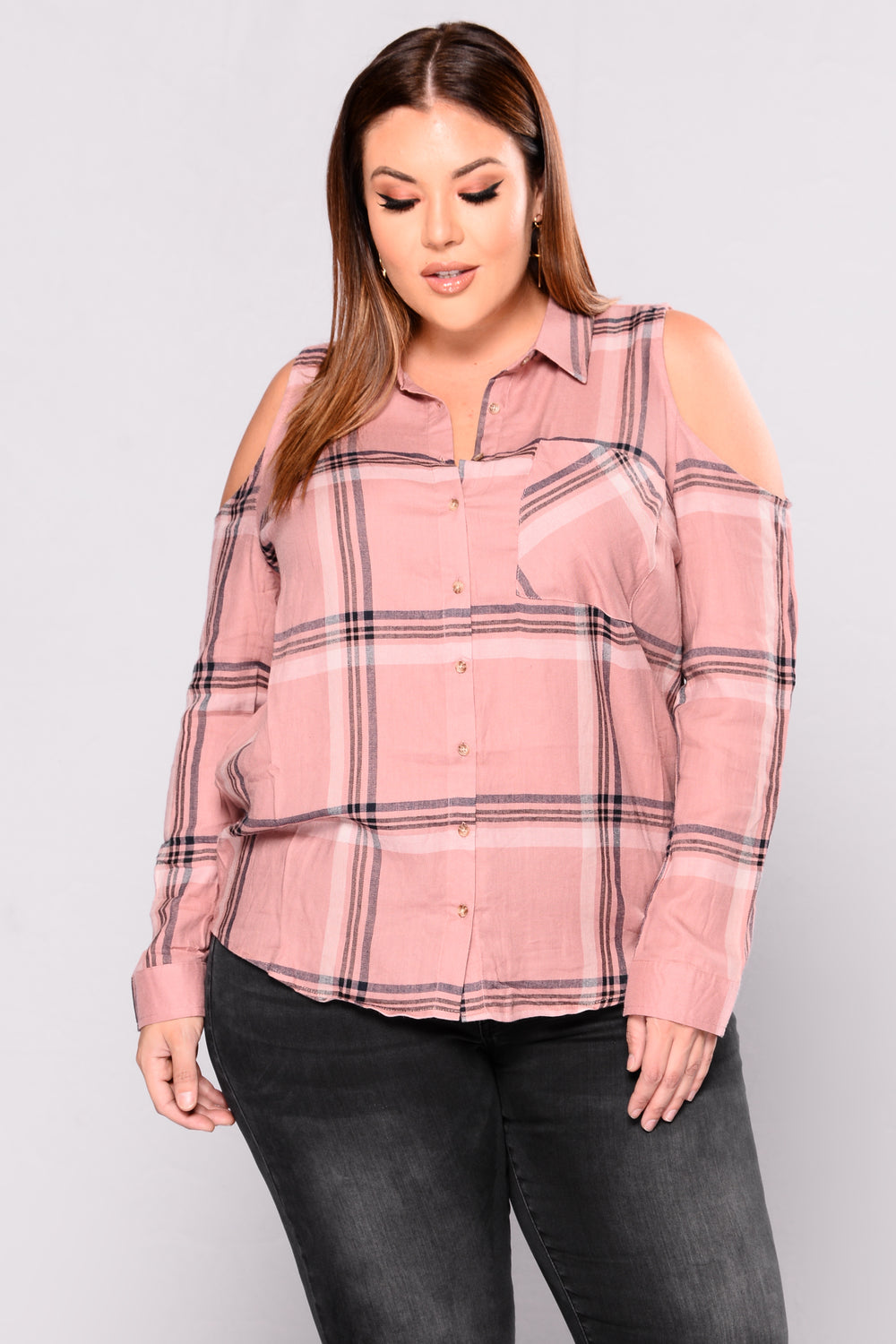Cool To The Bone Top - Mauve