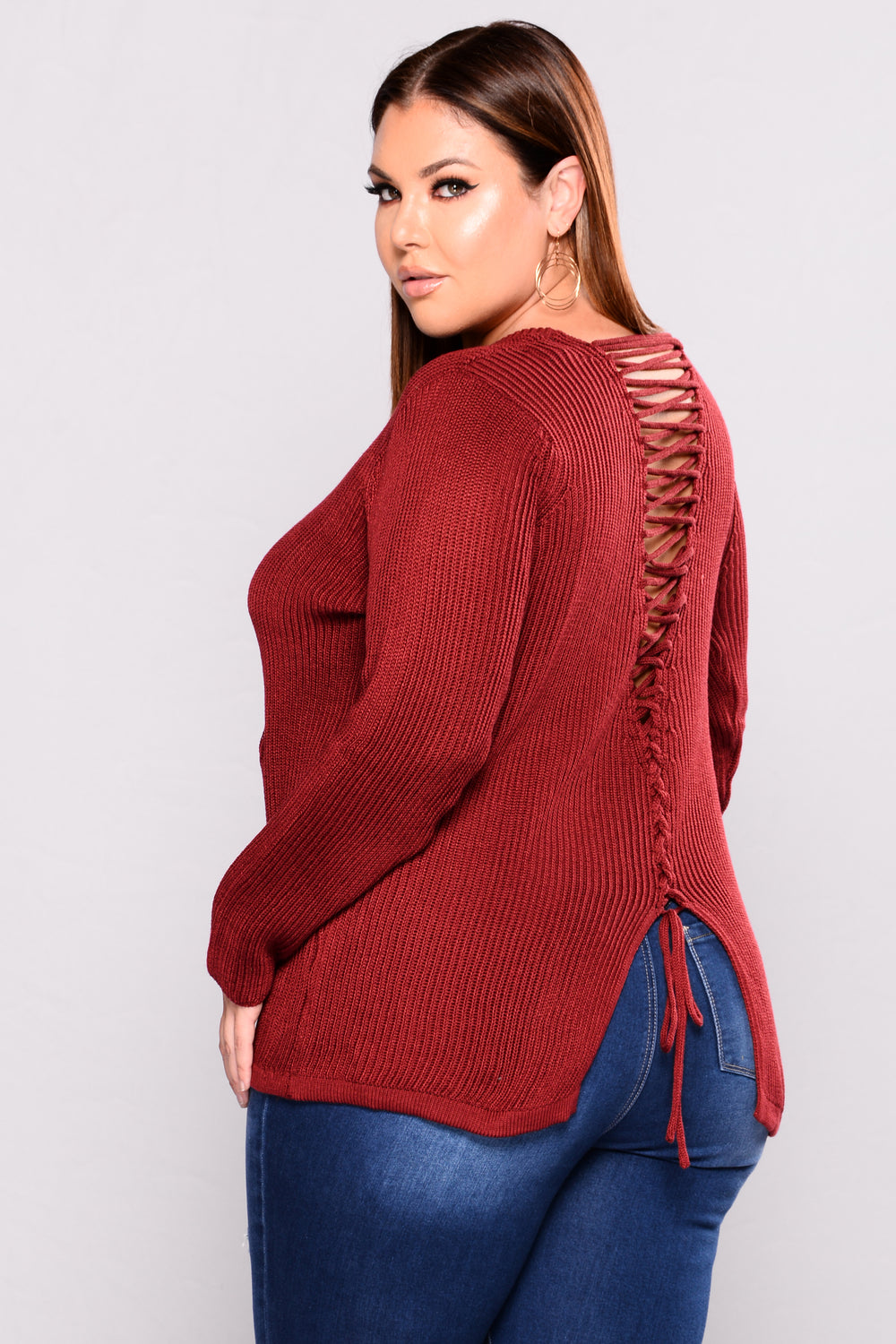 Get It Right Sweater - Red