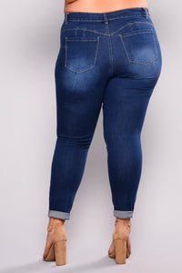 Work For Me Booty Shaping Jeans - Medium